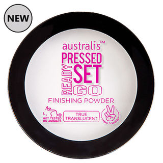 Australis Ready Set Go PRESSED Finishing Powder - Translucent