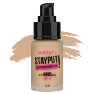 Australis Stay Put Foundation - Natural Fawn