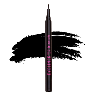 Australis Tiny Tip Liquid Eyeliner - Carbon Black