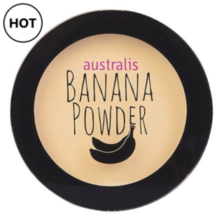 Australis Face Powder - Banana PRESSED