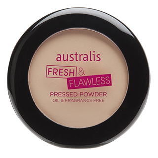 Australis Fresh & Flawless Powder - Light Beige (Lightest Shade)