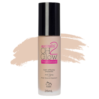 Australis Oh 2 Glow Light Diffusing Foundation - Beige