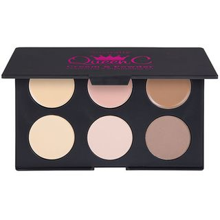 Australis Queen C - Cream & Powder 2 In 1 Contour Kit