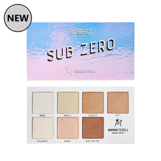 BPerfect x MMMMitchell Sub Zero - Highlight Palette