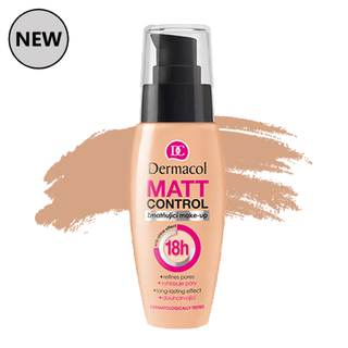 Dermacol Matt Control Foundation - #4