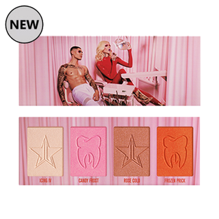 Jeffree Star Cosmetics Cavity Skin Frost Highlighter Palette