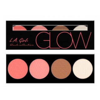 LA Girl Beauty Brick Blush Palette - Glow
