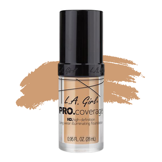 LA Girl HD Pro Coverage Foundation - Natural