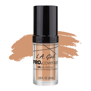 LA Girl HD Pro Coverage Foundation - Porcelain