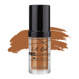LA Girl HD Pro Coverage Foundation - Warm Caramel
