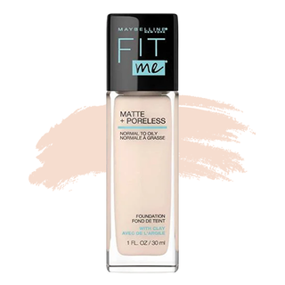 Maybelline Fit Me Foundation - 105 Fair Ivory (Matte)