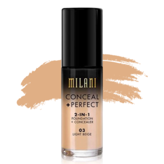 Milani Conceal + Perfect 2-in-1 Foundation - 03 Light Beige