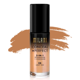 Milani Conceal + Perfect 2-in-1 Foundation - 08 Light Tan