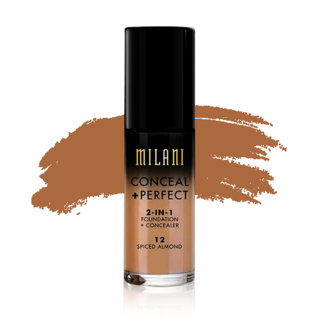 Milani Conceal + Perfect 2-in-1 Foundation - 12 Spiced Almond