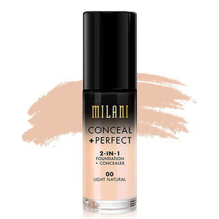 Milani Conceal + Perfect 2-in-1 Foundation - 00 Light Natural