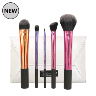 Real Techniques Deluxe Brush Set + Clutch