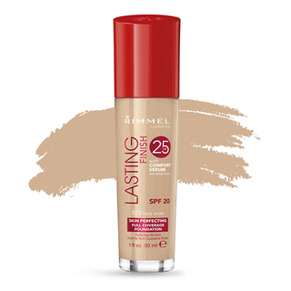 Rimmel Lasting Finish 25 Hour Foundation - True Ivory