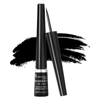Rimmel Exaggerate Liquid Liner - 100% Black