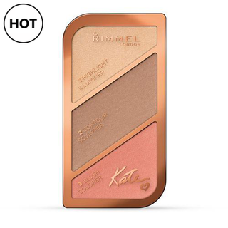 Rimmel Kate Moss Sculpting Palette - Coral Glow