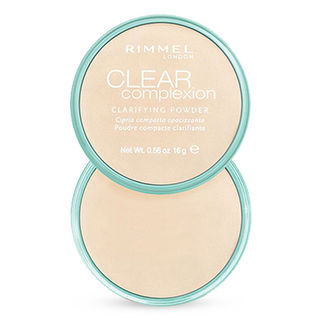 Rimmel Clear Complexion Pressed Powder - Transparent