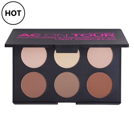 Australis 'AC On Tour' Contour Kit - (POWDER) - LIGHT