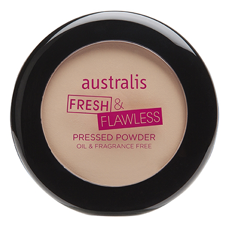 Australis Fresh & Flawless Powder - Light Beige (Lightest)