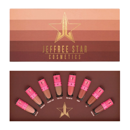 Jeffree Star Cosmetics Mini Nudes Bundle - Volume 1
