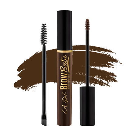 LA Girl Brow Bestie Brow Gel - Dark Brown