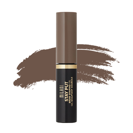 Milani Stay Put Brow Shaping Gel - 02 Soft Brunette