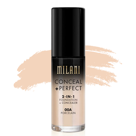 Milani Conceal + Perfect 2-in-1 Foundation - 00A Porcelain