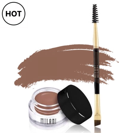 Milani Stay Put Brow Pomade - 01 Soft Brown